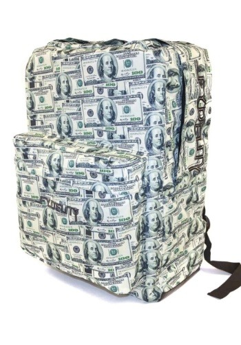 Cash Money Print Fydelity Big A$$ Backpack