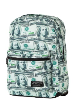 Cash Money Print Fydelity Backpack