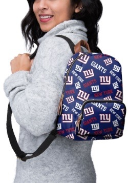 New York Giants Printed Collection Mini Backpack