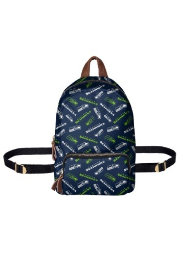 Seattle Seahawks Printed Collection Mini Backpack