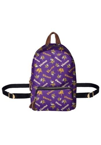 Minnesota Vikings Printed Collection Mini Backpack