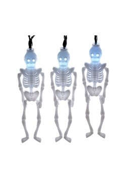 Skeleton Party 10 Piece LED Light Set