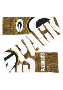 Green Bay Packers Wordmark Big Logo Scarf Alt2