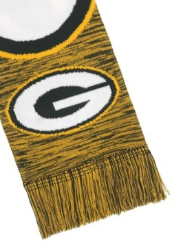 Green Bay Packers Wordmark Big Logo Scarf Alt3
