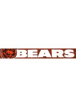 Chicago Bears Wordmark Big Logo Colorblend Scarf Alt1