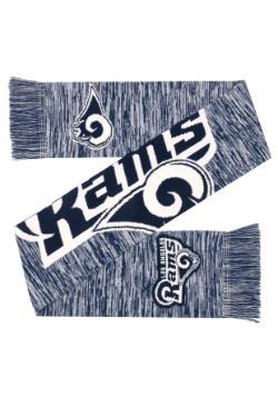 Los Angeles Rams Wordmark Big Logo Colorblend Scarf