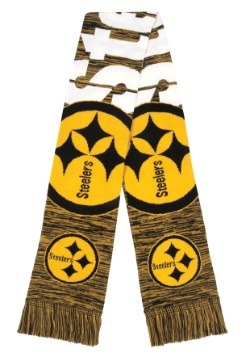 Pittsburgh Steelers Wordmark Big Logo Colorblend Scarf