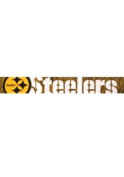 Pittsburgh Steelers Wordmark Big Logo Colorblend Scarf Alt1