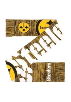 Pittsburgh Steelers Wordmark Big Logo Colorblend Scarf Alt2