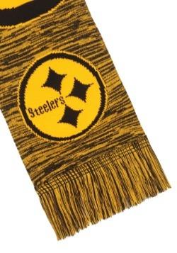 Pittsburgh Steelers Wordmark Big Logo Colorblend Scarf Alt3