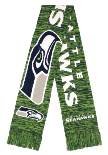 Seattle Seahawks Wordmark Big Logo Colorblend Scarf