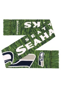 Seattle Seahawks Wordmark Big Logo Colorblend Scarf Alt3