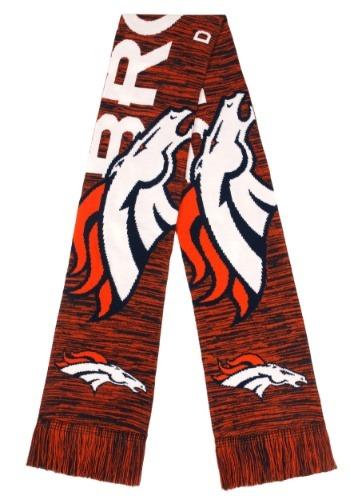 Denver Broncos Wordmark Big Logo Colorblend Scarf