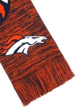 Denver Broncos Wordmark Big Logo Colorblend Scarf Alt2