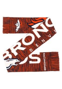 Denver Broncos Wordmark Big Logo Colorblend Scarf Alt3