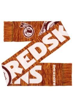 Washington Redskins Wordmark Big Logo Colorblend Scarf Alt3