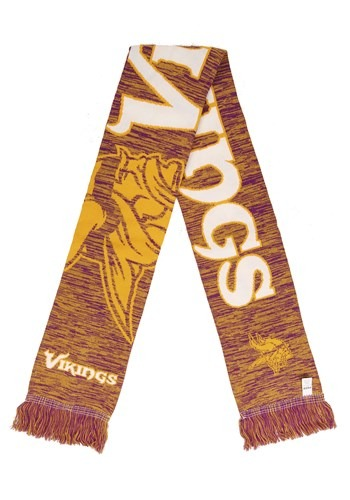 Minnesota Vikings Wordmark Big Logo Colorblend Scarf