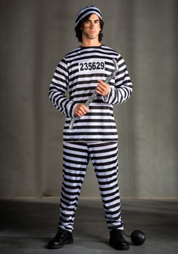 Prisoner Men's Costume
