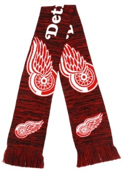 Detroit Red Wings Wordmark Big Logo Colorblend Scarf