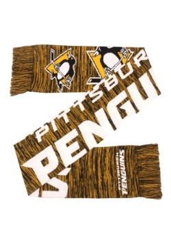 Wordmark Big Logo Pittsburgh Penguins Colorblend Scarf
