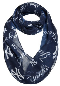 New York Yankees Team Logo Infinity Scarf