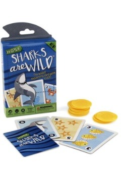 Sharks are Wild Childrens Card Game