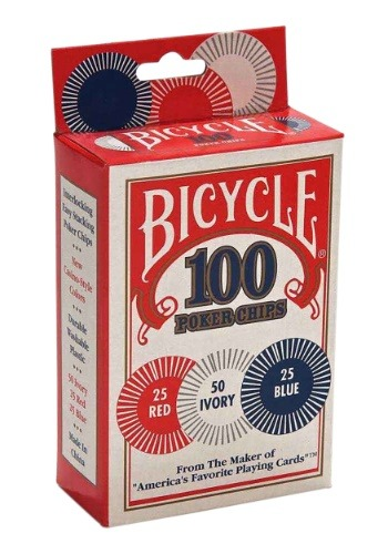 Bicycle 100 Poker Chips