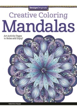 Creative Coloring Mandalas Coloring Book