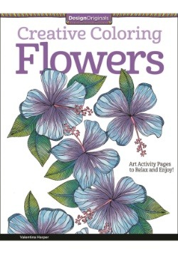Creative Coloring Flowers Coloring Book