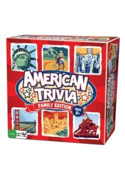 American Trivia Family Edition Board Game