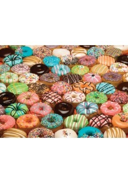 Doughnuts 1000 Piece Cobble Hill Puzzle