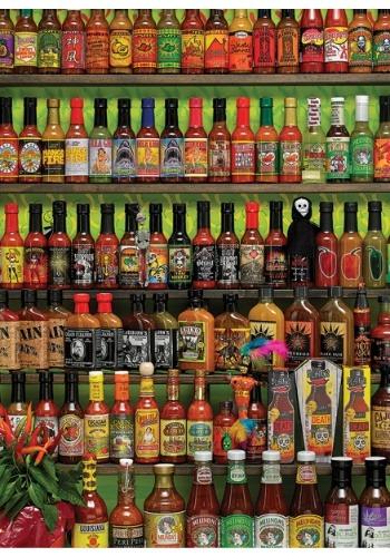 Hot Hot Sauce 1000 Piece Cobble Hill Puzzle