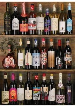 Wine Alphabet 1000 Piece Cobble Hill Puzzle