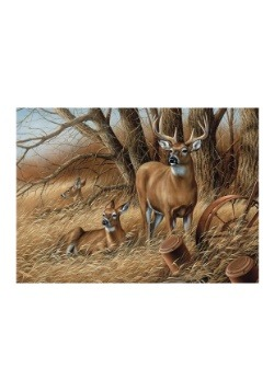 Deer Rustic Retreat 1000 Piece Cobble Hill Puzzle