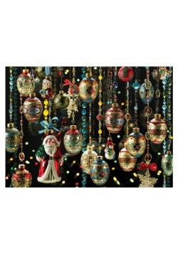 Christmas Ornaments 1000 Piece Cobble Hill Puzzle