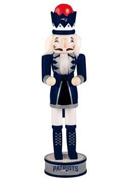 "New England Patriots 14"" Holiday Nutcracker"