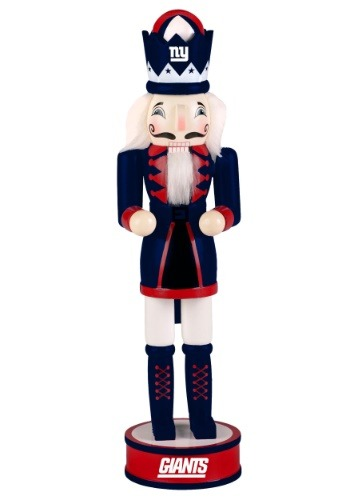 "New York Giants 14"" Holiday Nutcracker"