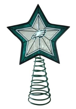 Philadelphia Eagles Star Christmas Tree Topper