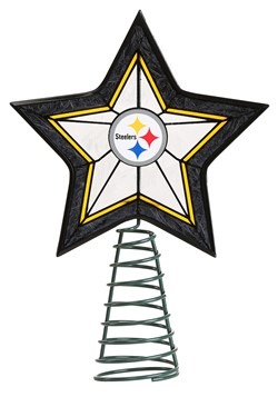 NFL Pittsburgh Steelers Star Tree Topper