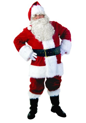 Premium Santa Suit Costume