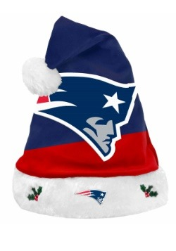 New England Patriots Santa Hat