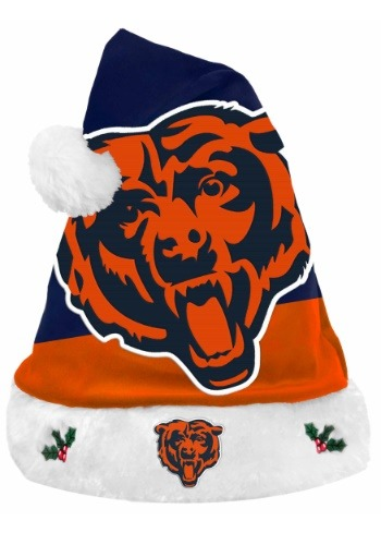 Chicago Bears Santa Hat