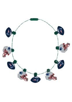 New England Patriots Light Up Ball Necklace