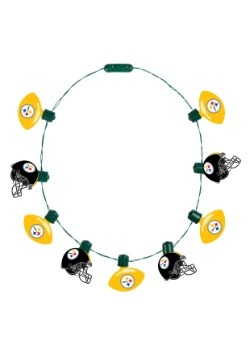 NFL Pittsburgh Steelers Light Up Ball Necklace