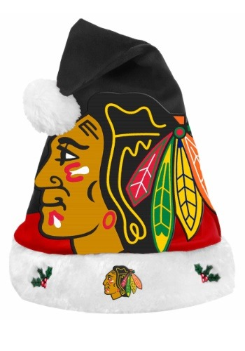 Chicago Blackhawks Santa Hat