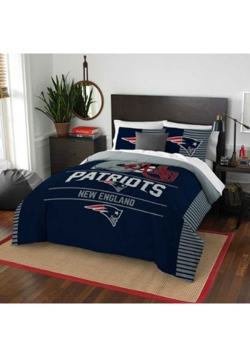 New England Patriots Full/Queen Bedding