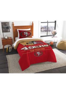 San Francisco 49ers Twin Comforter