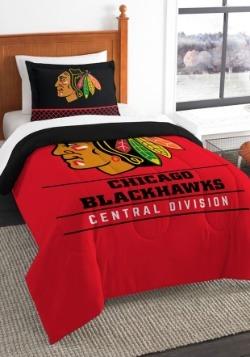 Chicago Blackhawks Twin Comforter