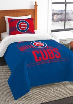 Twin Chicago Cubs Comforter