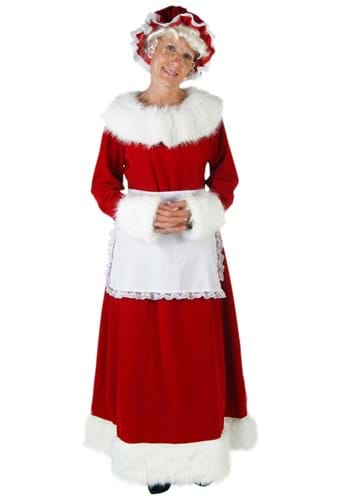 Women's Mrs. Claus Deluxe Costume